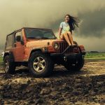 A Jeep is a Girl\'s Bestfriend, Photo submitted by Miranda Mecum