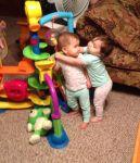 GinaSimoneaux  Beard: Rayna loves to hug her sister Alayna.
