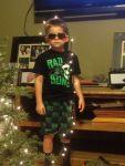 KaylaPolkey Beard: Mom,I am to cool for Christmas.