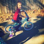 TiffanyCredeur Beard: My babygirl on her new frozen bike!