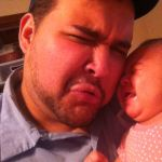 Cherie Badeaux Beard: Daddy daughter cry faces