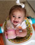 Ashley Ward Beard: A girl and her sippy!