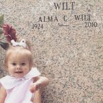 Ashley  Ward Beard: First time meeting her great great grandma Alma
