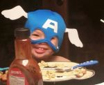 Superhero for Dinner, Photo submitted by Helena Cade