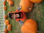 Bobbi  Ortego  Beard: My first trip to the pumpkin patch