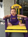 kimberly collins Beard: LSU Baby