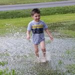 Tanya Daniels Beard: Nothing like playing in the water puddles