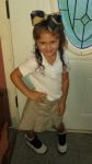 Jaylin Ashley Beard: First Day Of School