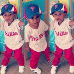 LarrielleEvers Beard: Little baseball player ⚾ phillies