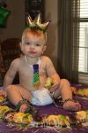 Clara Nicholas Beard: I Found the Kingcake Baby