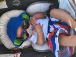 NikkiSevin Beard: Baby's first beach day
