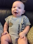 KrystalSimmons Beard: Sawyer is ready for the Saints!